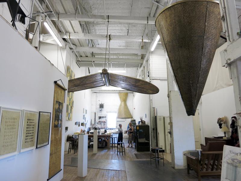 Joyce McDaniel's studio