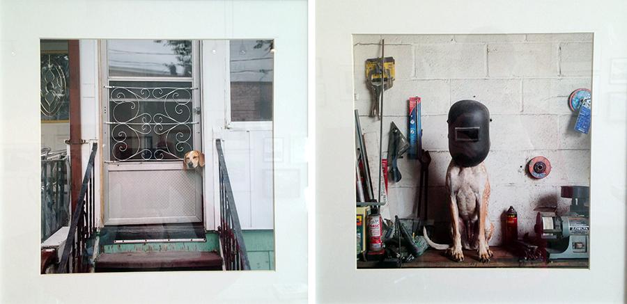 """""""Maddie on Things"""" (door) & (helmet) by Theron Humphrey"""