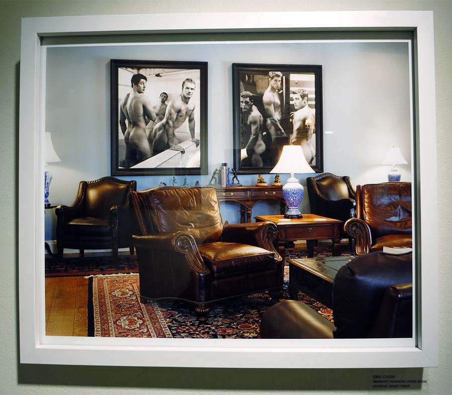 """""""Manhunt Mansion, Living Room"""" by Emil Cohen"""