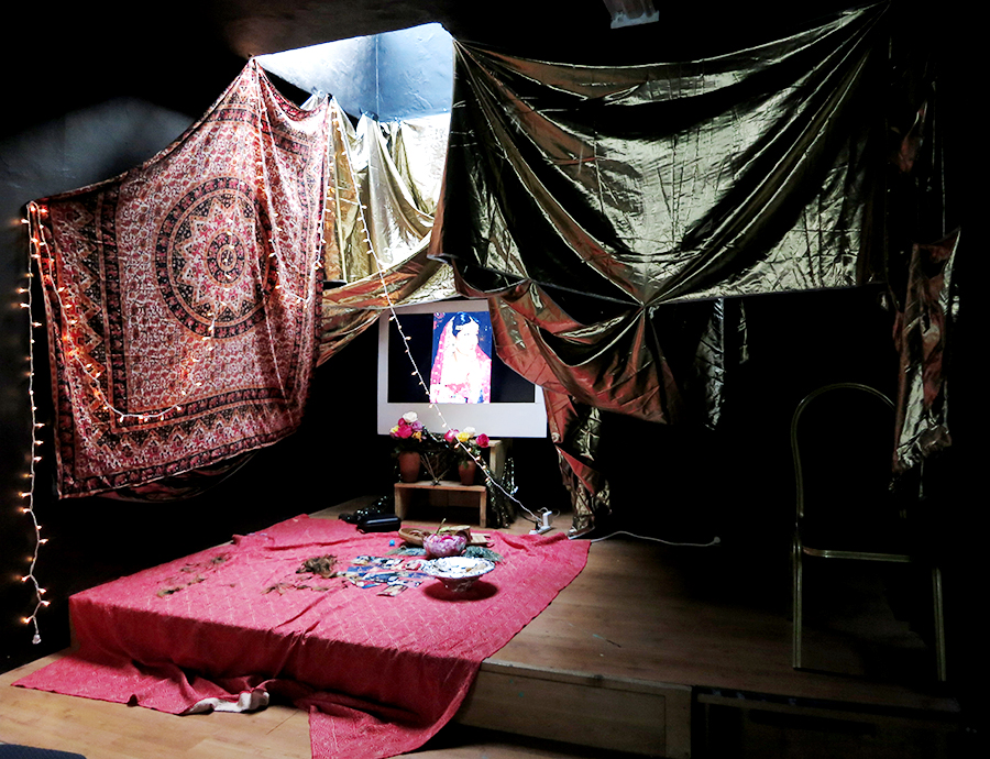 Installation/performance evidence by Nabeela Vega